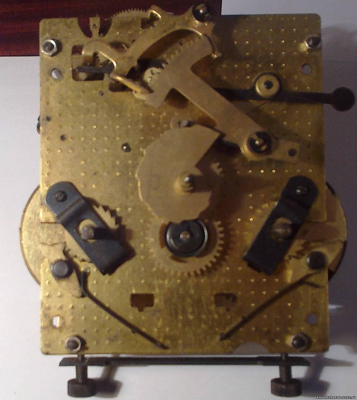 Ремонт настенные часы янтарь своими руками